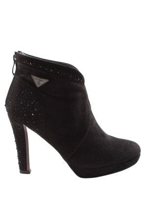 Laura biagiotti Botki czarny W stylu casual