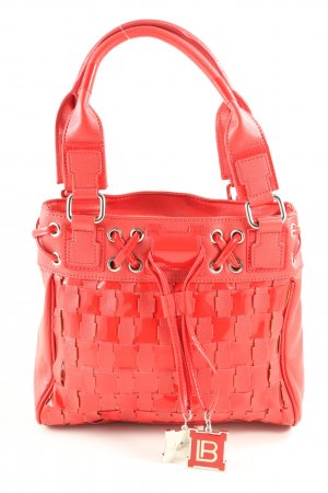 Laura biagiotti Sac Baril rouge style décontracté