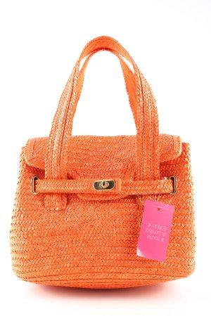 Laura biagiotti Panier orange clair imprimé allover style décontracté