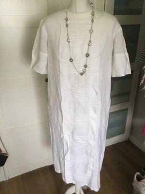 Laura biagiotti pret a Porter vintage Kleid weiß mit Stickerei