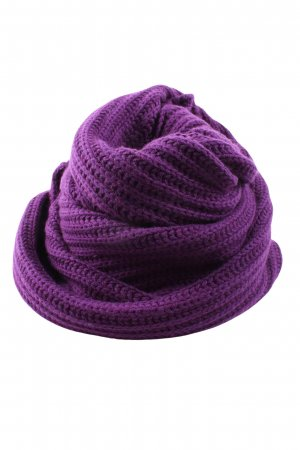 Laura biagiotti Snood lilac cable stitch casual look