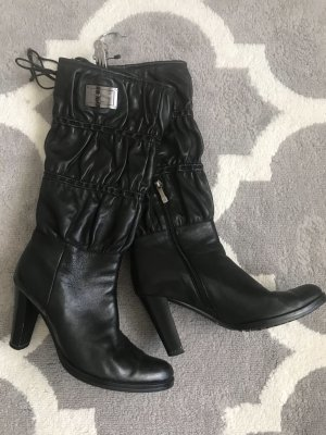 Laura biagiotti Heel Boots black leather