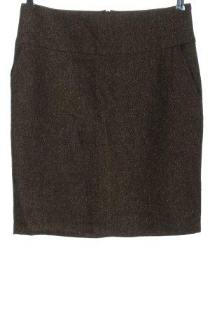 Laura di Sarpi Jupe tricotée brun moucheté style décontracté