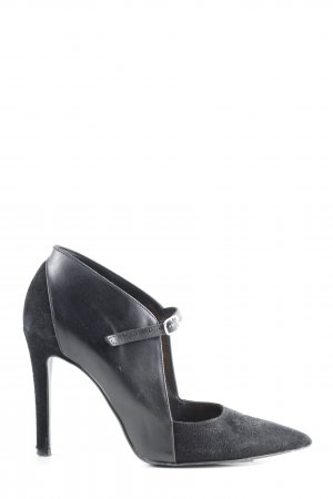 Laura Hochfront-Pumps schwarz extravaganter Stil