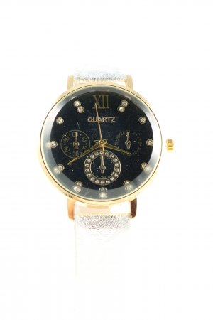 Laura Kent Analog Watch gold-colored-silver-colored business style