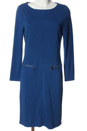 Laura Kent Abito a maniche lunghe blu stile casual
