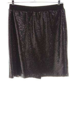 Laura Kent Minirock schwarz extravaganter Stil