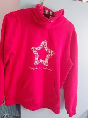 Laura Kent Long Sweater raspberry-red