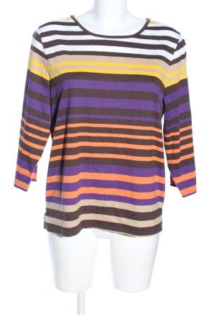 Laura Kent Stripe Shirt allover print casual look