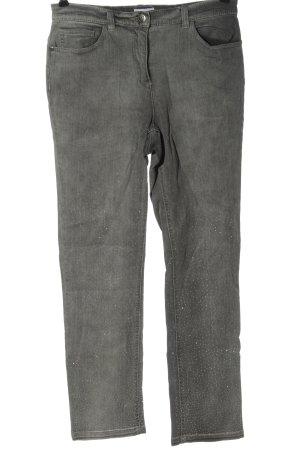 Laura Kent Tube Jeans light grey casual look