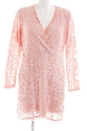 Laura Kent Spitzenkleid pink Elegant