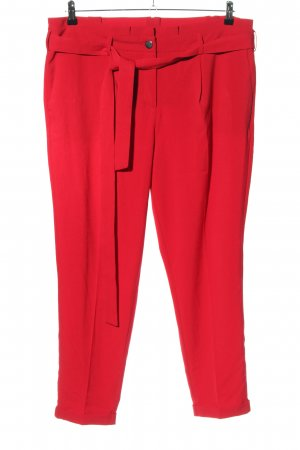 Laura Kent Stoffhose rot Business-Look