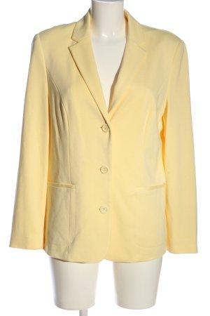 Laura Kent Blazer in maglia giallo pallido stile casual