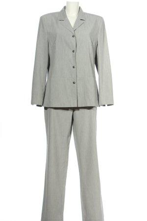 Laura Lebek Tailleur-pantalon gris clair moucheté style d'affaires