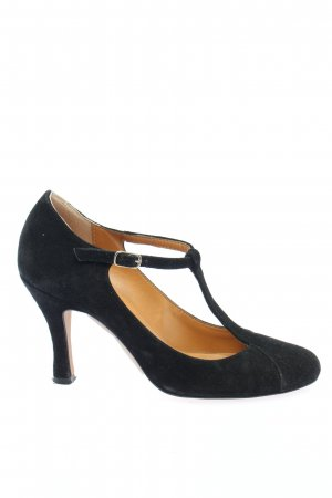 Laura Riemchenpumps schwarz Business-Look