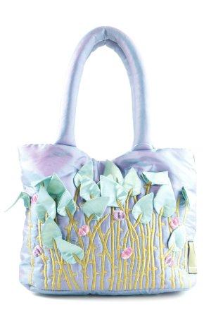 Canvas Bag flower pattern extravagant style