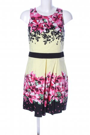 Laura Scott A-Linien Kleid Blumenmuster Casual-Look