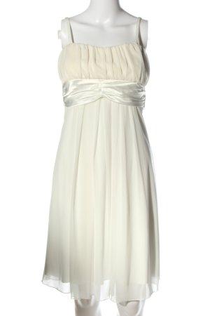 Laura Scott Abendkleid wollweiß Elegant