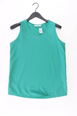 Laura Scott Ärmellose Bluse Größe 42 grün aus Polyester
