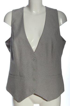 Laura Scott Chaleco de vestir gris claro estilo «business»