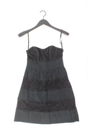 Laura Scott Bandeaukleid Größe 36 Ärmellos schwarz aus Baumwolle