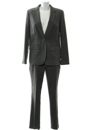 Laura Scott Business-Anzug grau Nadelstreifen Business-Look