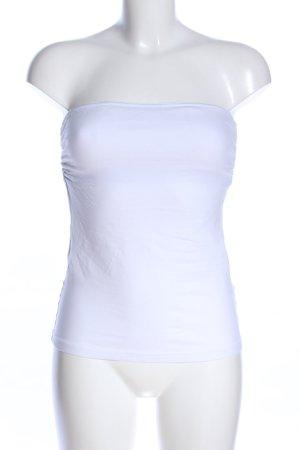 Laura Scott Haut bustier blanc style décontracté
