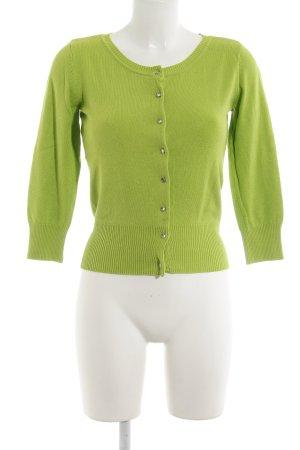 Laura Scott Cardigan grün Casual-Look