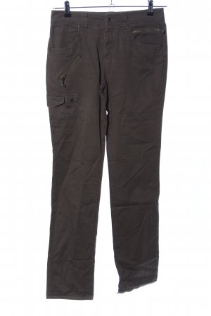 Laura Scott Pantalone cargo marrone stile casual