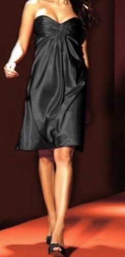 Laura Scott Vestido bustier negro