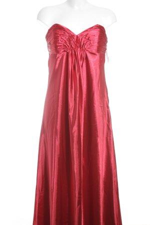 Laura Scott Vestido corte imperio rojo elegante
