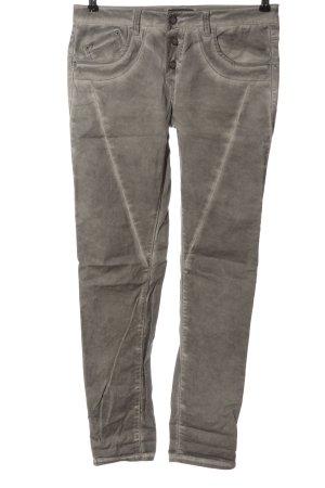 Laura Scott Spodnie z pięcioma kieszeniami jasnoszary W stylu casual