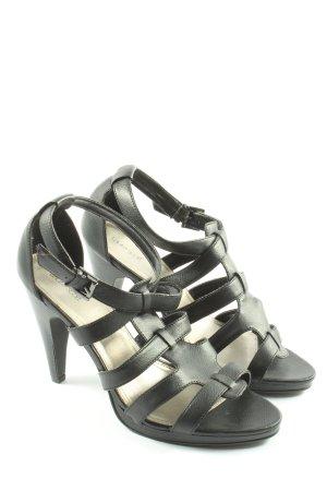 Laura Scott High Heel Sandaletten schwarz Casual-Look
