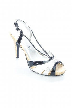 Laura Scott High Heel Sandaletten mehrfarbig Party-Look