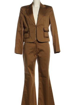 Laura Scott Traje de pantalón marrón estilo «business»