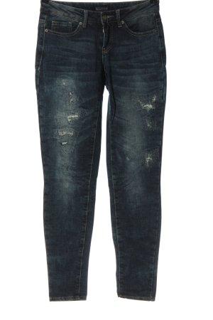 Laura Scott Jeans vita bassa blu stile casual