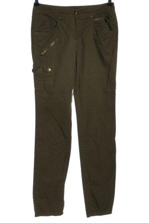Laura Scott Spodnie khaki khaki W stylu casual