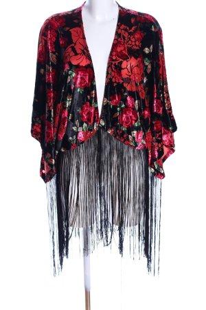 Laura Scott Kimono Blumenmuster extravaganter Stil