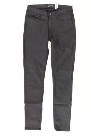 Laura Scott Faux Leather Trousers black