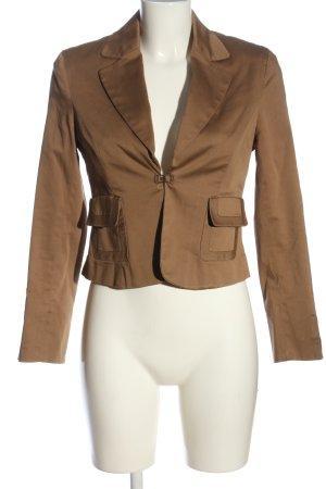 Laura Scott Kurz-Blazer bronzefarben Casual-Look