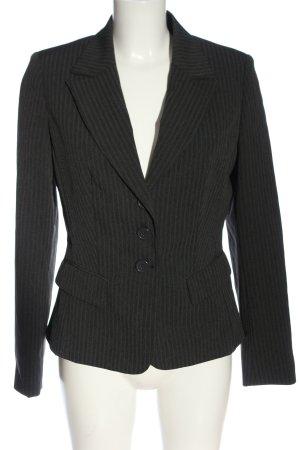 Laura Scott Korte blazer zwart volledige print zakelijke stijl