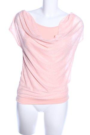 Laura Scott Kurzarm-Bluse pink Casual-Look