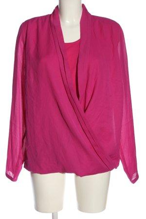 Laura Scott Langarm-Bluse pink Casual-Look