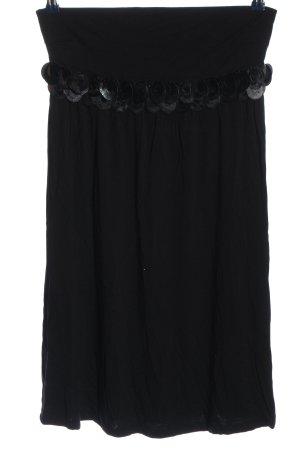 Laura Scott Spódnica midi czarny W stylu casual