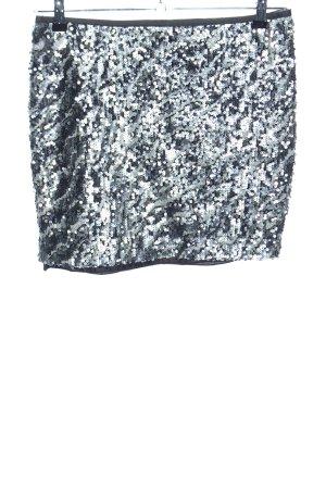 Laura Scott Minirock silberfarben Elegant
