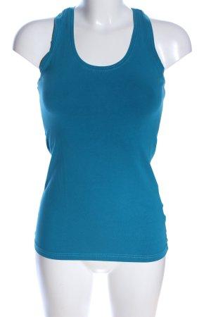 Laura Scott Muscle Shirt blue casual look