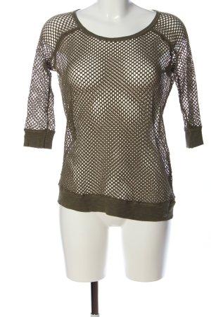 Laura Scott Netshirt bruin gestippeld elegant