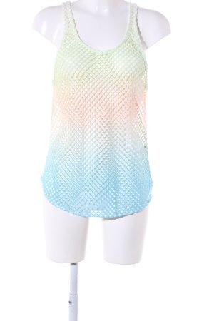Laura Scott Netzshirt Farbverlauf Casual-Look