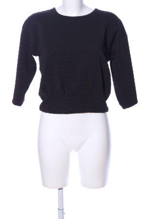 Laura Scott Oversized Pullover schwarz Casual-Look