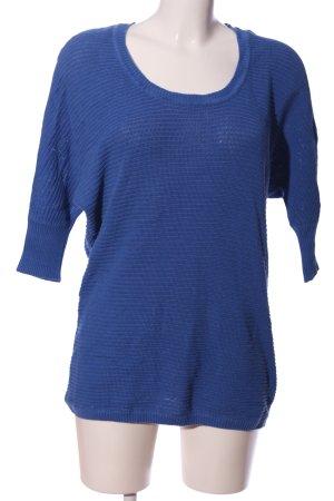 Laura Scott Oversized Pullover blau Casual-Look